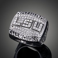 Los aficionados anillo Fans de alta gama Colección 2007 LSU NCAA concurso anillo de campeón