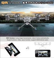 Wholesale Walkera QR Y100 Quadcopter GHz RTF Axis FPV Toy Helicopter Wifi RC Quadcopter FPV Drones Flying Helicopter Camera