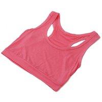 Wholesale Fashion Women GYM Sports Bra Vest Tops Strap Chest Wrap Sports Crop Tops Vest
