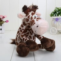 big giraffes - Wild Friends cute giraffe plush doll stuffed animals toys CM