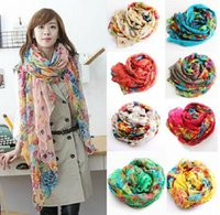 beautiful fields - New style scarves joker fields and gardens shivering scarves beautiful autumn winter scarf sunscreen shawl