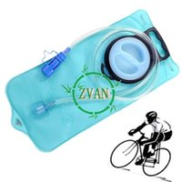 Wholesale Blue L Bicycle large Mouth Sports Water Bladder Bag Hydration for Camping Hiking Climbing