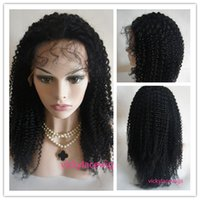 beautiful indian remy - Indian remy human hair wigs Swiss lace beautiful star kinky curly lace front with silk top wigs