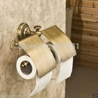 Wholesale And Retail High end Wall Mount Double Bathroom Toilet Paper Holder Bathroom Spare Toilet Paper Rack