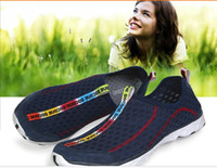 wade - Running net cloth lazy wading breathable Shuo upstream shoes for men and women outdoor shoes