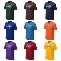 big purple fan - Fans Washington Capitals Big Tall Logo TShirt Fashion Capitals Hockey Tees Shirt O Neck Cotton Short Sleeve Colors