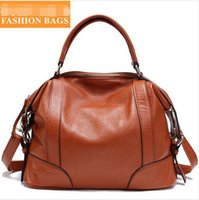 real leather designer handbags - European real genuine leather bags for women fashion designer handbags high quality shoulder bags messenger bags COLORS
