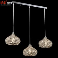 on and off - contracted and contemporary handmade chandeliers Crystal pendant light hanging lamps for dining room lighting indoor lighting fixtures