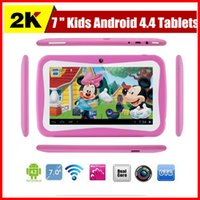 Wholesale Cheapest Kids Tablets inch Android kids tablet pc RK3026 Dual core Bluetooth MB RAM GB ROM Kids Games Apps Best gifts for kids