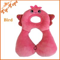 Wholesale new baby car headrest baby sleeping headrest baby head pillow cover cartoon seat covers M49381