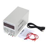 Wholesale Hot Sale V V A A High Precise Variable Adjustable Digital DC Voltage Stabilizer Regulator Power Supply with Clip Cable order lt no tra
