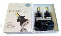 Wholesale 10sets Super Bright K Xenon White w High Power led headlight H4 H7 H11 LED Headlight Bulbs LM