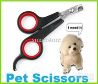 Wholesale 200pcs Stainless Steel Pet Dog Nail Clippers Scissors Grooming Trimmer For Dog Cat