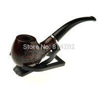 Cheap Wholesale-Healthy Wooden Cigarette Cigar Pipe Smoking Pipes Free Shipping