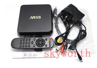 Wholesale M8S KODI H K Smart TV Box Amlogic S812 Quad Core GB GB ROM MINI PC Streamer Android Media Player IPTV Full HD D Movie Sports