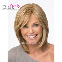 Cheap Cheap And Nice Short Blonde Bob Wig For Women Short Synthetic Wigs Blonde Women Heat Resistant Synthetic Bob Wigs