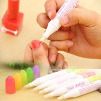 art minimum - Minimum Order Nail Polish Remover Pen Nail Art Fix Corrector Pen with replacment Tips Durable Use Nail Protect