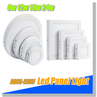 Cheap hot round led panel light surface mounted led ceiling panel light 6w 12w 18w 24w