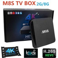 android media playe - Latest M8S Android TV Box Amlogic S812 Quad Core GPU G G Kodi Full HD Smart tv Media Playe Dual Band G G WiFi