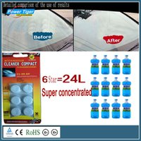 Wholesale 10Pack Amazing New Arrival Auto Windscreen Cleaner Car Windscreen Cleaning Agent Pills Effervescent Tablets Glass Water
