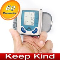 Wholesale High quality automatic Wrist Blood Pressure Monitor freeshipping