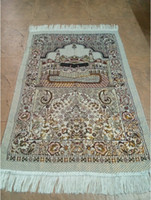 Wholesale 2015 New cm cm Islamic Prayer Rug Musallah Muslim Prayer Mat