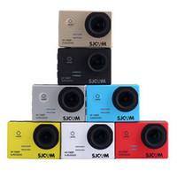 Wholesale Original SJCAM SJ5000 Meter Waterproof Camera P Full HD fps MP Helmet Sport Action Cameras Sport DV Car DVR GoPro