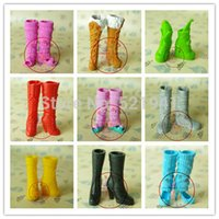 doll shoes - New pairs boots doll accessories fashion Shoes Boot For Barbie Doll