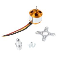 Wholesale 5PCS A2212 KV Brushless Outrunner Motor for RC RC Aircraft Quadcopter AFD_411