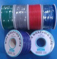 Wholesale 0 mm Single Core Copper PCB board fly line electronic Wire about M Roll