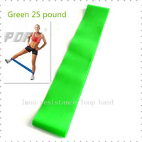 Wholesale Set of Workout Ankle Wrist Resistance band LOOP Gym pilates yoga Light Med Heavy Exercise Leg BUTT Lift Loop