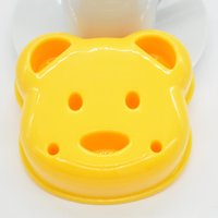 Wholesale Craft Sandwich Plastic Mold Cutter - Wholesale-1 Piece Little Bear Shape Sandwich Mold Bread Cake Mold Maker DIY Mold Cutter Craft Wholesale+Free Shipping zx*JJ0322W#c9