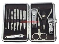 Wholesale in Nail Clipper Kit Pedicure Scissor Tweezer Knife Ear pick Utility Manicure Set Tools