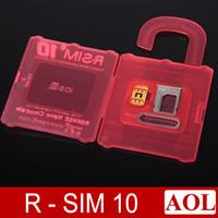 al por mayor x sim 4s-Original R-SIM 10 R-SIM 10 RSIM10 más RSIM 9+ nano en la nube compatible universalmente 4S 5 5C 5S 6 6plus, adecuados todos los sistemas iOS6.X-Bata8.X