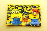 Wholesale 2015 New Despicable Me Briefcases Stationery Bags Oxford Cloth Zipper Bag A5 Envelope Bags
