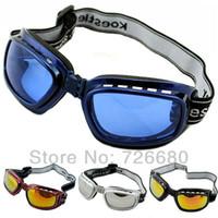 Wholesale Fashion Ski Motorcycle Folded Goggles Snowboard Off Road UV400 Sunglasses