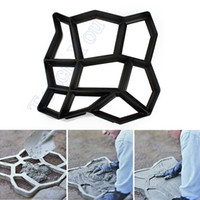 Wholesale Pc DIY Plastic Path Maker Mold Manually Paving Cement Brick Molds The Stone Road Auxiliary Tools