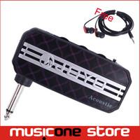 Wholesale New JOYO JA Acoustic Guitar Sound Effect Mini Guitar Amplifier Pocket Amp w Headphone Output and MP3 input MU0061