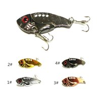 Cheap Hot 5pcs lot Spinners Fishing Lure Mixed color Size Weight Metal Spoon Lures Hard Bait Fishing Tackle Atificial 5.5cm 11g YG05