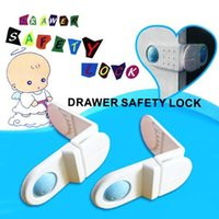 2015 Nouveaux produits de sécurité pour les enfants de la cuisine Sécurité Baby Door Lock 14 pcs / lot avec angle pour cabinet Réfrigérateur fenêtre