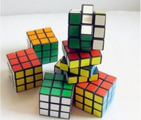 Educational Supplies - 2016 Supply of CM third order rubik s cube Black color paste entry level intelligence rubik s cube Educational toys Gifts toys