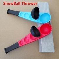 Wholesale 2015 Hot SnowBall Thrower Snowball Maker Snow Ball Scooper Slinger Snow Chuck Snowball Launcher For Winter Battle Kids Toy Winter Fun Toys