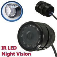 Wholesale 135 Degree IR LED Night Vision HD Car Rear View Reverse Parking Camera Waterproof order lt no track
