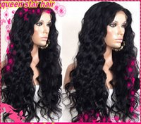 Wholesale loose wave glueless full lace wig front lace wig malaysian virgin hair with baby hair for black women