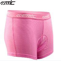 Wholesale SANTIC Breathability Women s Coolmax Anti Microbial Sportswear Bike Bicycle Cycling Fashion Underpants Underwear D Paded Shorts