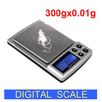 digital scales - 300g g Electronic Weighing Jewelry Digital Scale Mini LCD Scale Gram new Weight balances Scales