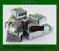 lamp supplies - 300W LED Light Lamp Driver Power Supply Adapter Converter LED Transformer A AC V V to DC V for strip light