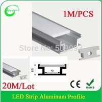Cheap slim aluminum extrusion profile Best 1M Strip Profile