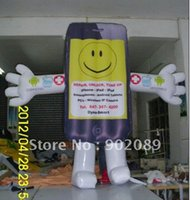 Wholesale Advertising Inflatable Cellphone Mascot Inflatable Costume