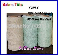 bakers boxes - Turquoise Aqua colour Baker Twine Divine Twine Yard Spool ply Bakery String Box String Crafts Pick from colors